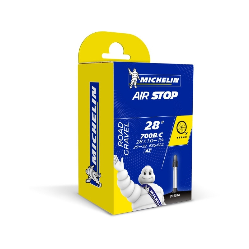 Michelin Air Stop duše A2 25 / 32-622 / 635 galuskový ventil, 125g