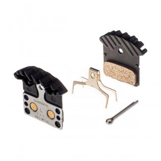 Shimano J04C brzdové destičky metalické s chladičem