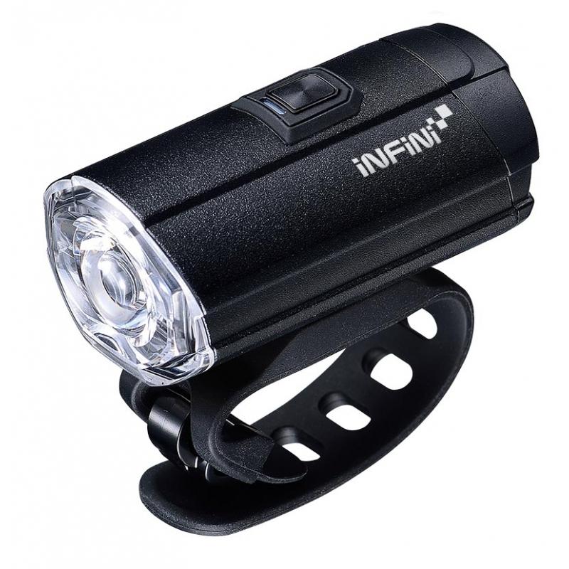 Světlo přední INFINI TRON 300 6f černé USB
