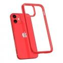 Pouzdro Spigen Ultra Hybrid iPhone 12 mini červeno-průsvitné