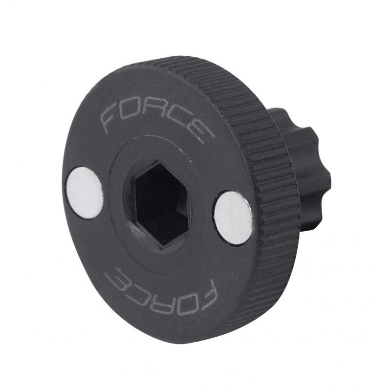 FORCE klíč pojistné matice osy Shimano Hollowtech II plast