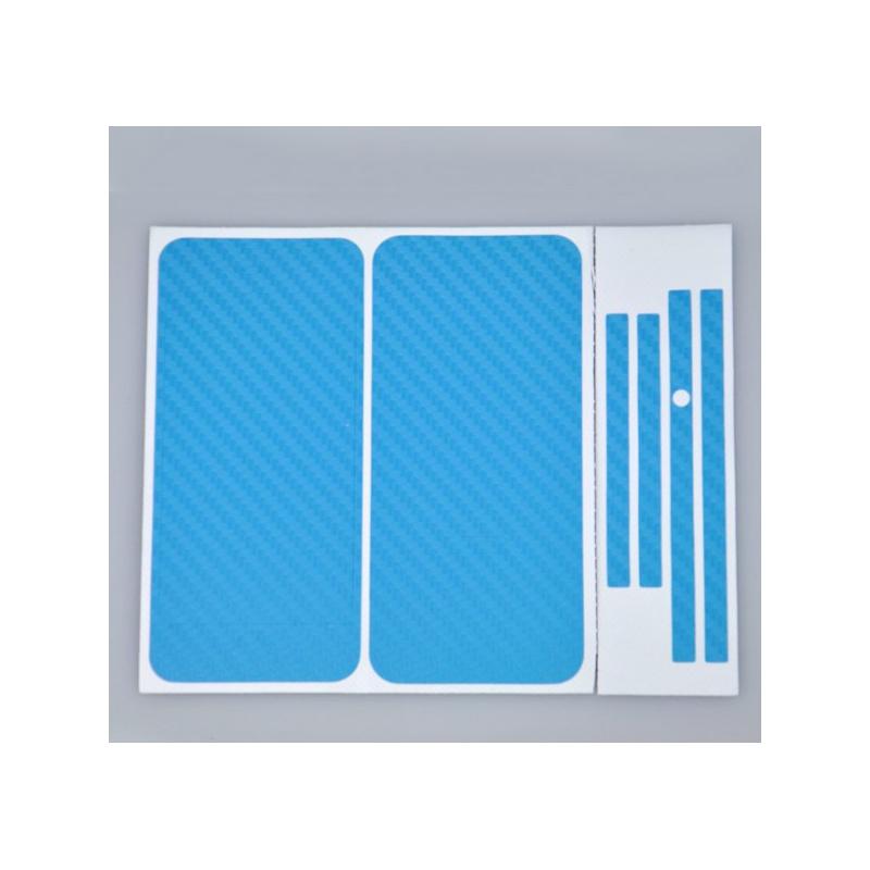 Karbonová fólie pro iPhone 4 / 4S komplet - různé barvy