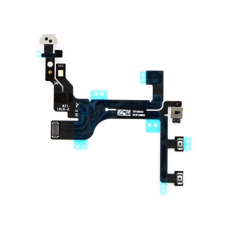 Flex kabel pro tlačítka hlasitosti, vypínaní a vibrační pro iPhone 5C